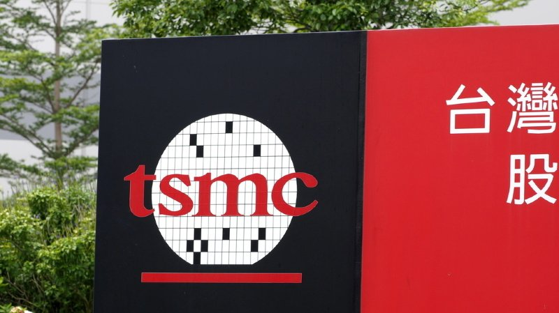 TSMC sales figures went up sharply in March